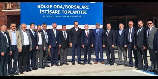 Photo of Başkan Bulut Hisarcıklıoğlu'na kapsamlı dosya sundu