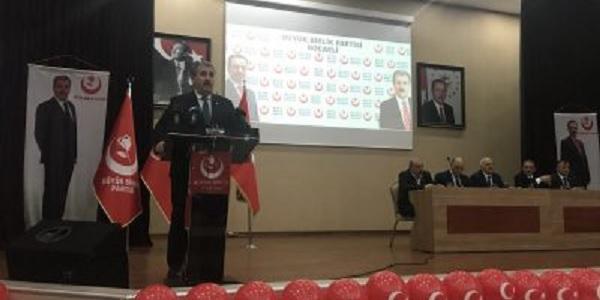 Photo of Destici: 'Biz İslam'la müşerref olduğumuz günden beri Kürtlerle kardeşiz'