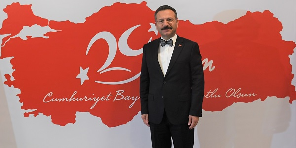Photo of Aksoy: 'Cumhuriyet ilanıyla Türkiye çağdaş dünyanın saygın bir üyesi'