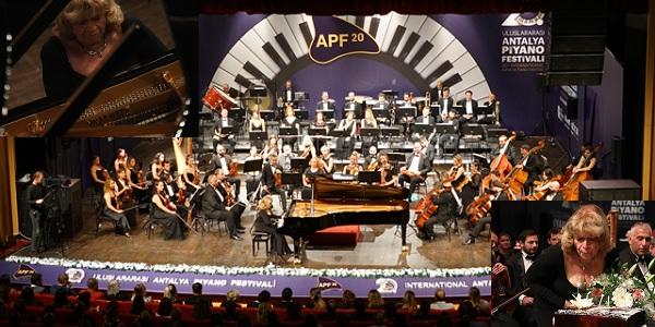 Photo of İdil Biret 20'nci Uluslararası Antalya Piyano Festivalinde