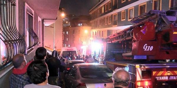 Photo of Şişli'de meydana gelen yangında İki kişi mahsur kaldı