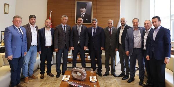 Photo of Başiskele Belediye Başkanı Özlü'den KOTO'ya iade-i ziyaret