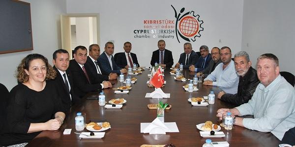 Photo of Başkan Bulut 'Saik' yönetimiyle Kıbrıs'ta iş ziyaretinde