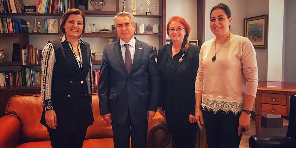 Photo of Başkan Hürriyet Unesco Türkiye Milli Komisyonunu ziyaret etti