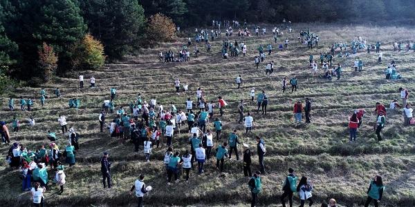 Photo of Gölcük 2 bin 500 fidanla geleceğe nefes verdi