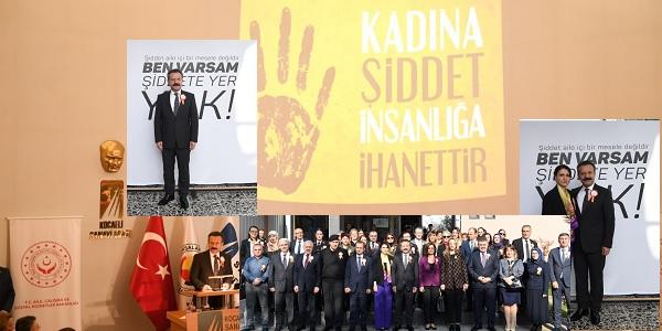 Photo of Kadına yönelik şiddete karşı farkındalık programı