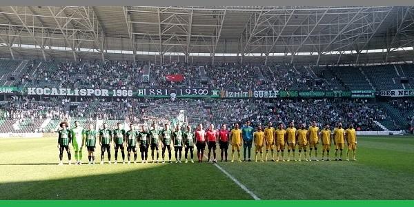 Photo of Kocaelispor – Fatsa Belediyesporu 3-0 mağlup etti