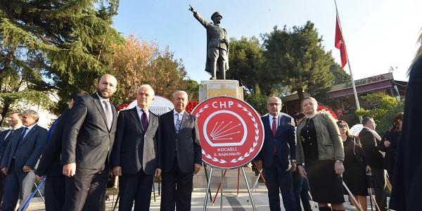 Photo of Sarıbay: 'Atatürk'ün izinde yılmadan çalışmaya devam edeceğiz'