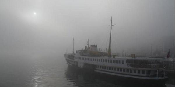 Photo of Sis nedeniyle İstanbul da vapur seferleri iptal edildi