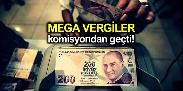 Photo of Yeni Vergi Paketi Mecliste kabul edilerek yasalaştı