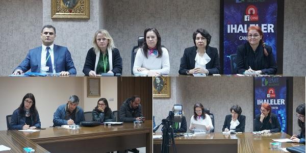 Photo of İzmit belediyesince cenaze evlerine yemek yardımı ihalesi yapıldı