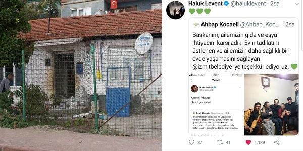 Photo of Nermin Teyzenin evini yenileyen İzmit Belediyesi'ne AHBAP'tan teşekkür