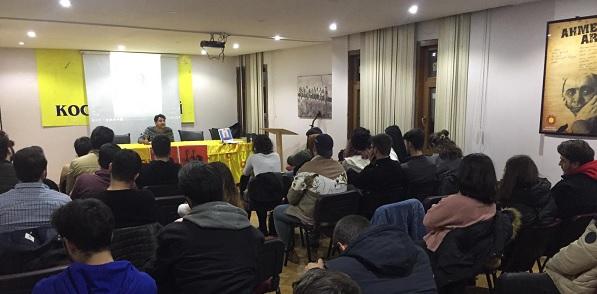 Photo of Erdal Eren'i Kocaeli Emek Gençliği idamının 39'uncu yılında andı