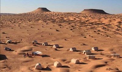 Sahara çöl safarisi