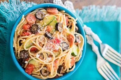 Spagetti Salatası Tarifi