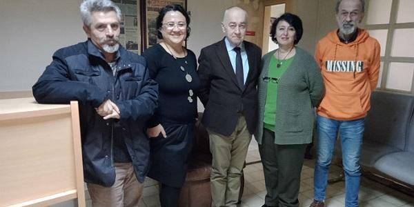 Çağdaş Kocaeli'ye KOMECE'den kutlama ziyareti