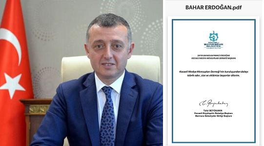Photo of KBB Başkanı Büyükakın'dan KOMECE'ye kutlama