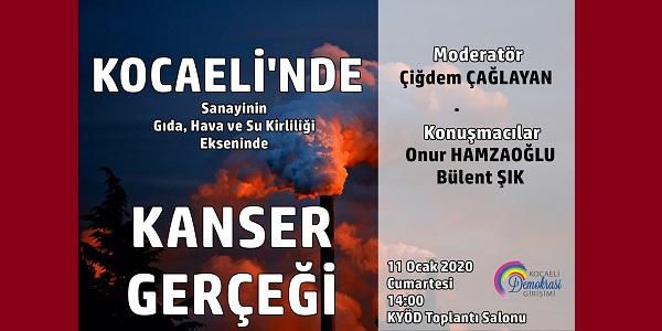 Photo of Kocaeli'de kanser gerçeğini Kocaeli Demokrasi Girişimi konuşacak