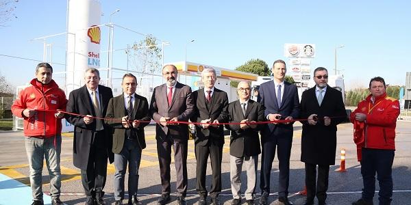 Photo of Shell & Turcas Türkiye'nin ilk LNG istasyonunu açtı