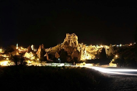 Uçhisar-Kapadokya-Türkiye'de gezilecek yerler-Cevizli