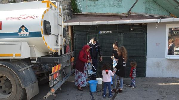 Photo of İzmit Belediyesi vatandaşını susuz bırakmadı
