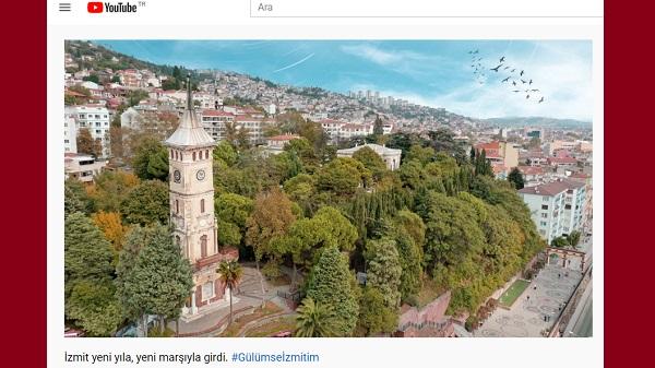 """Photo of İzmit'e yeni yıl hediyesi: """"Gülümse İzmit'im"""" marşı"""