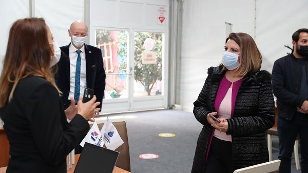 Photo of Kiptaş İzmit Çınar Evler için Belsa yanına irtibat çadırı kuruldu