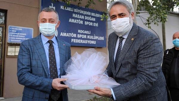 """Photo of Büyükakın: """"Amatör spor Kocaeli'de daha da güçlenecek"""""""