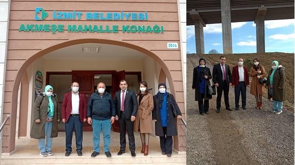 Gelecek Partisi İzmit Akmeşe'de Muhtarlarla görüştü