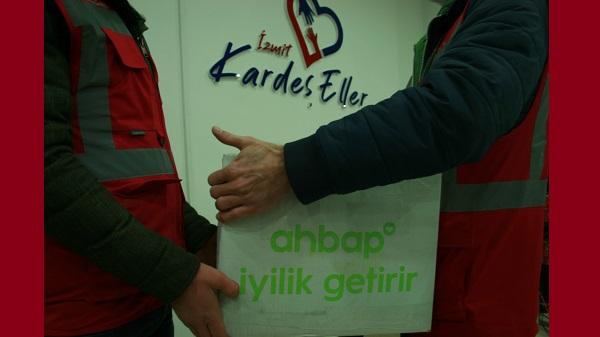 Photo of İzmit Belediyesi ile AHBAP iyilikte buluştu
