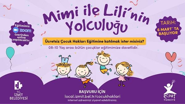 Photo of İzmit Belediyesi çocuklara haklarını Mimi ve Lili ile öğretecek